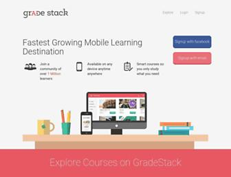 Thumbshot of Gradestack.com