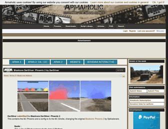 Thumbshot of Armaholic.com