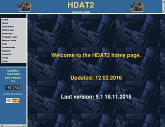 hdat2.com screenshot