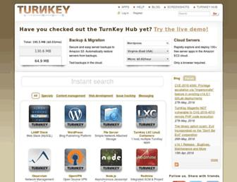 Thumbshot of Turnkeylinux.org