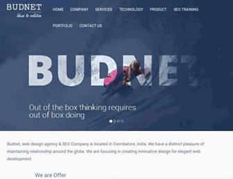 budnetdesign.com screenshot