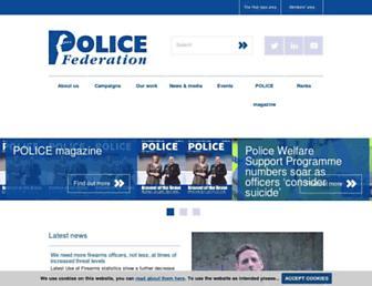 polfed.org screenshot