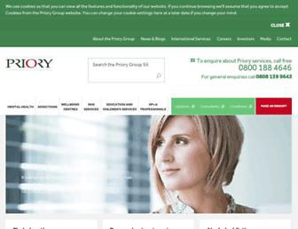 priorygroup.com screenshot