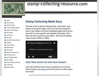 stamp-collecting-resource.com screenshot