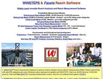 winsteps.com screenshot