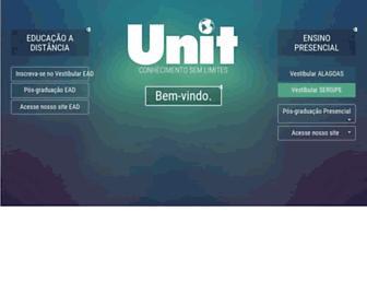 Main page screenshot of unit.br