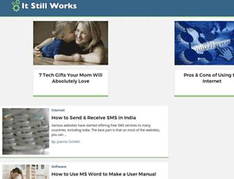 itstillworks.com screenshot