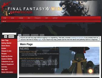 ffxiv.gamerescape.com screenshot
