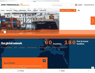 apmterminals.com screenshot