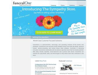 Thumbshot of Funeralone.com