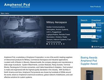 amphenolpcd.com screenshot