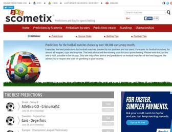 en.scometix.com screenshot