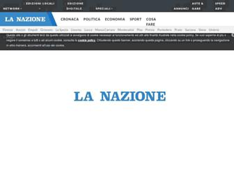 Thumbshot of Lanazione.it