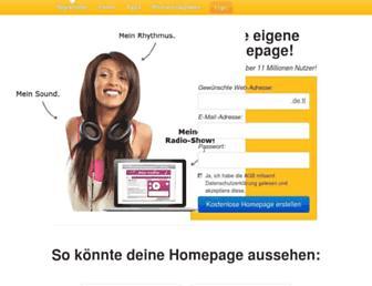 homepage-baukasten.de screenshot