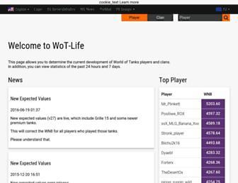 en.wot-life.com screenshot
