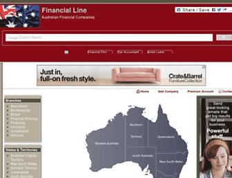 financialline.org screenshot