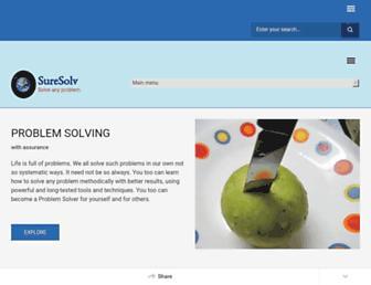suresolv.com screenshot