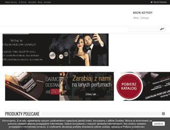laneperfumy.pl screenshot
