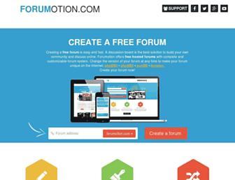 Thumbshot of Forumotion.com