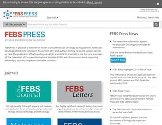 febs.onlinelibrary.wiley.com screenshot
