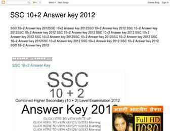 sscanswerkey.blogspot.com screenshot