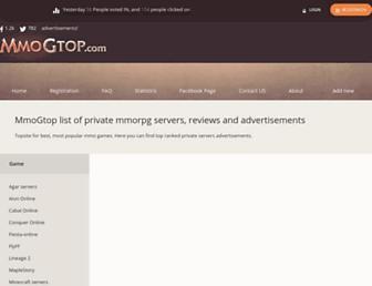 mmogtop.com screenshot