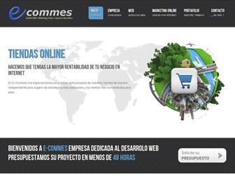 Thumbshot of E-commes.com