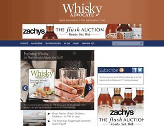 Thumbshot of Whiskyadvocate.com