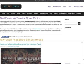 justbestcovers.com screenshot