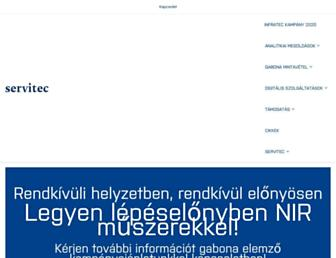 servitec.hu screenshot