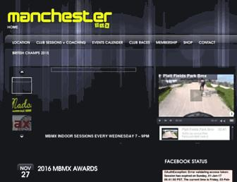 manchesterbmx.co.uk screenshot