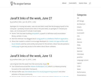 fxexperience.com screenshot