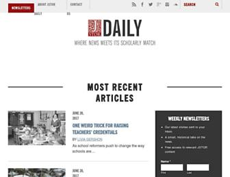 daily.jstor.org screenshot