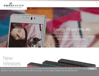 Thumbshot of Energysistem.com