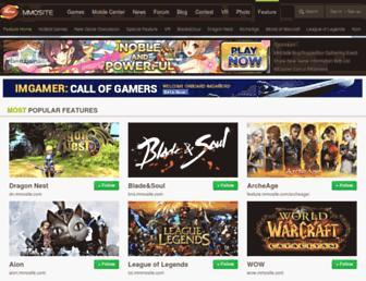 feature.mmosite.com screenshot