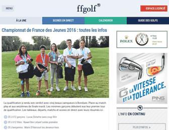 ffgolf.org screenshot