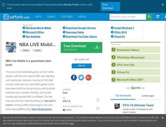 nba-live-mobile.en.softonic.com screenshot