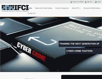 cybercrimeinvestigators.com screenshot
