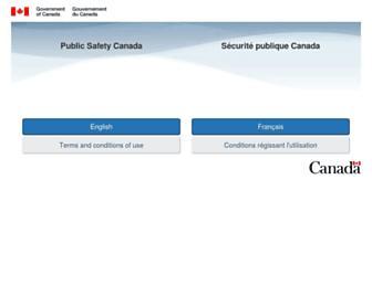 publicsafety.gc.ca screenshot