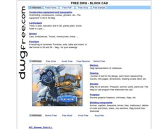 dwgfree.com screenshot