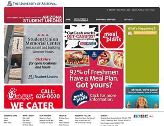 union.arizona.edu screenshot