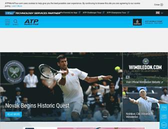 Thumbshot of Atpworldtour.com