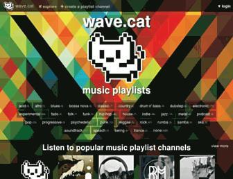 wave.cat screenshot