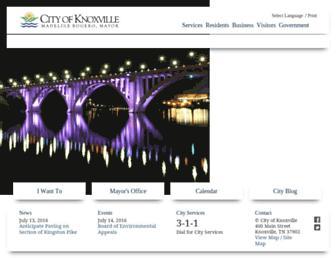 knoxvilletn.gov screenshot