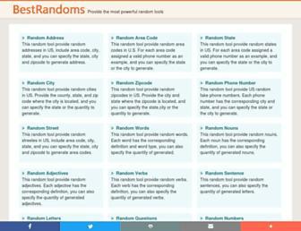 bestrandoms.com screenshot