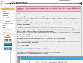 qelectrotech.org screenshot