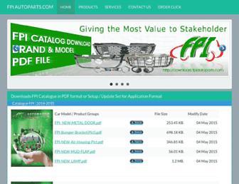 download.fpiautoparts.com screenshot