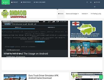 androidunderworld.blogspot.com screenshot