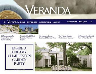 veranda.com screenshot