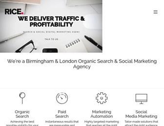 ricemedia.co.uk screenshot